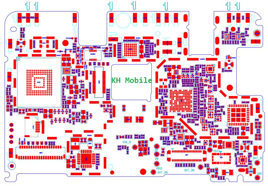 Redmi Note 4 (MTK) Schematic & Layout Diagrams  JMH