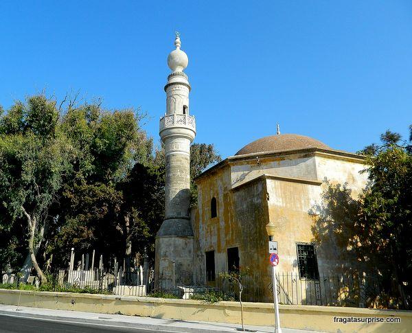 Mesquita de Murat Reis, na Cidade de Rodes, Grécia
