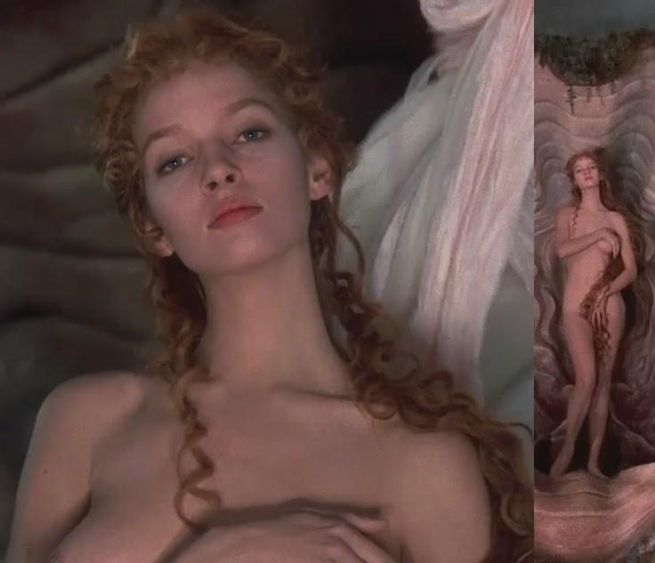 Charming nude shower uma therman lookalike