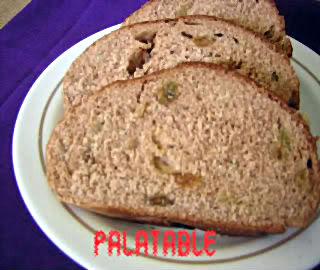Cinnamon Raisin Bread Recipe @ treatntrick.blogspot.com