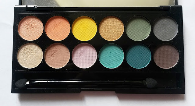 """Les plus jolies couleurs """"Del Mar vol. 2"""" Sleek Makeup"""