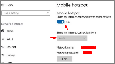 How to Connect PC Internet to Mobile via WiFi or USB