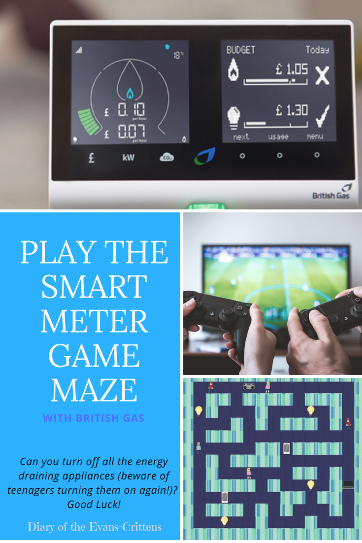 save energy, Save Energy: Play the Smart Meter Maze Game  #BritishGasSmarterLiving