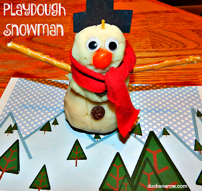 kids crafts, preschool activities, playdough, snowman, Frosty, Christmas, winter crafts