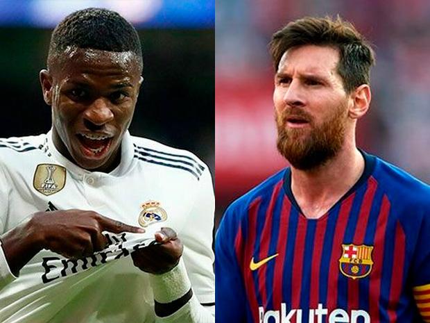Donde ver Partidos de Futbol de Barcelona y Real Madrid en vivo