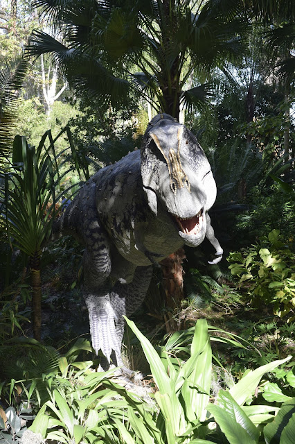 Dinosaur Invasion at Leu Gardens