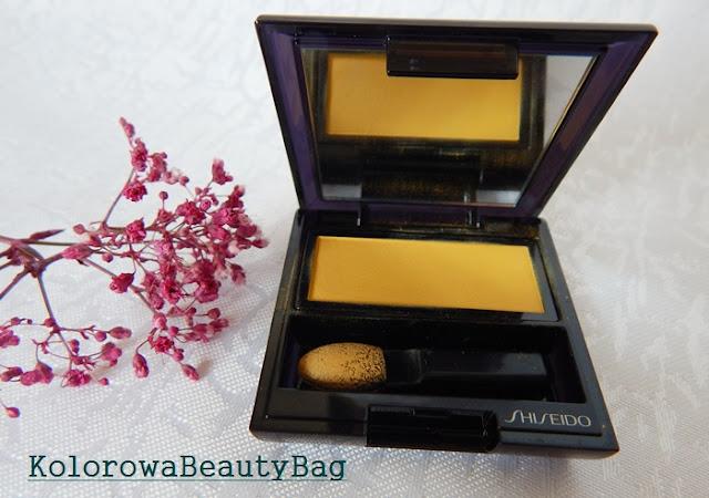 zgaszony zolty cien do powiek shiseido