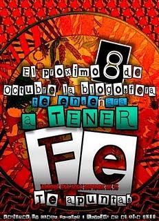 Banner de encuentro en la blogosfera - fe 2011