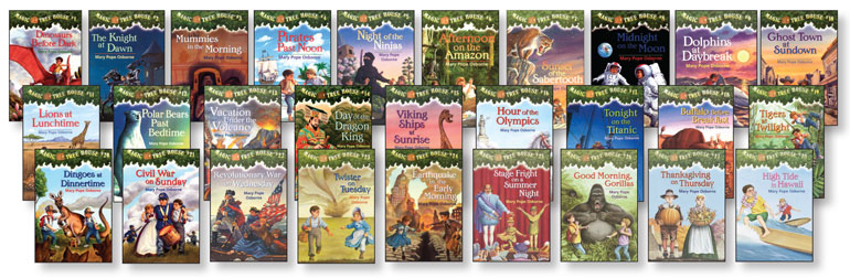 Magic Tree House Books - Lot of 5 Excellent Condition