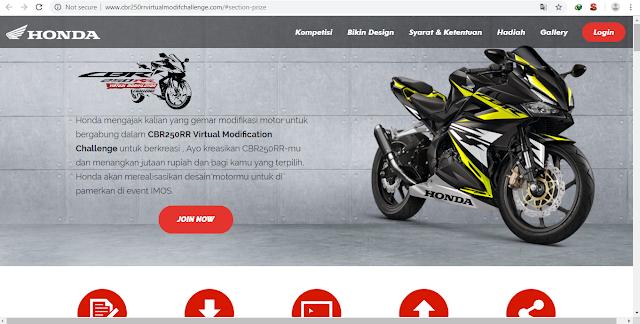 CBR250RR Virtual Modification Challenge dengan Total Hadiah 20 Juta Rupiah
