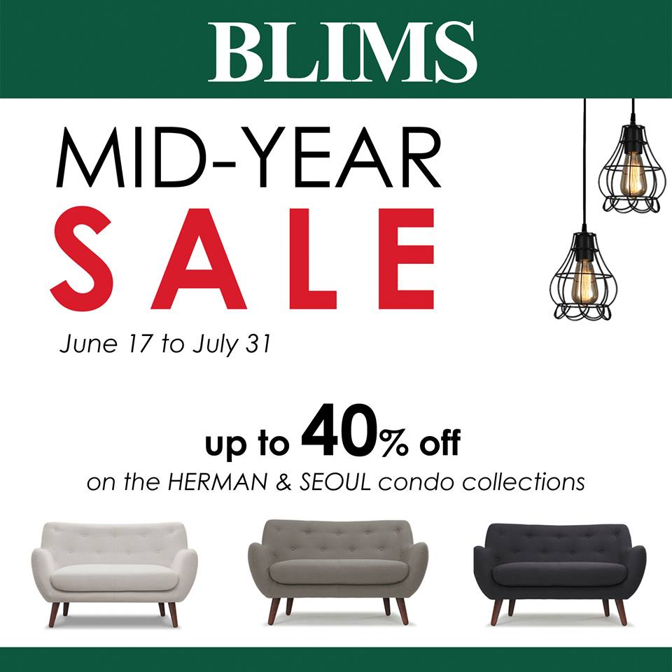 Manila shopper blims mid year sale june july 2016 Robinson s home furniture philippines