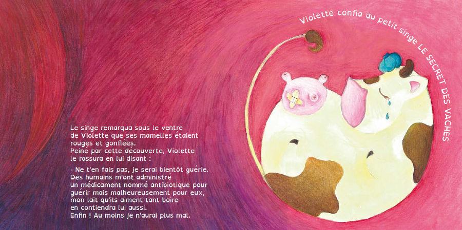 Pépite et Violette