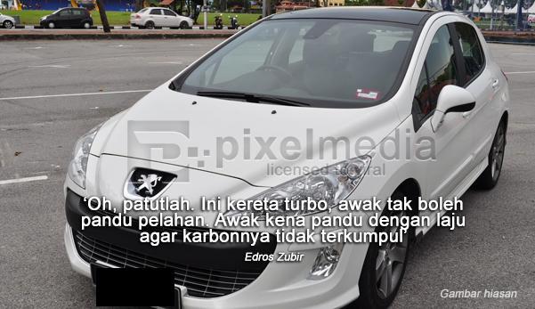 Kepada Peugeot Malaysia, saya kecewa!