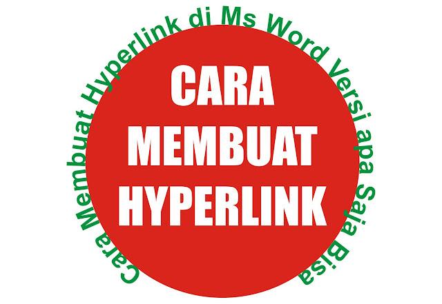Gambar Cara Membuat Hyperlink di Ms Word