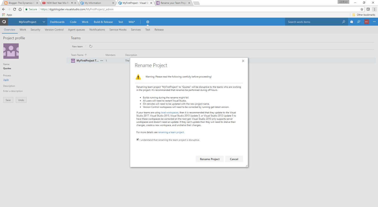 DevOps Series: Microsoft Dexterity Source Code Control with