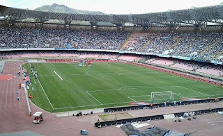 Napoli's Stadio San Paolo has a capacity of more than 60,000, making it Italy's third largest football ground