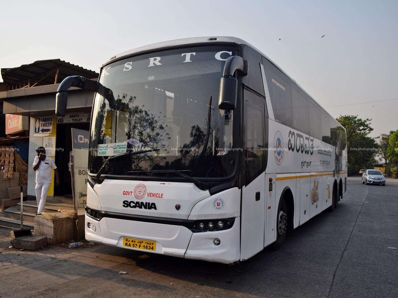 Mumbai Quickie Mumbai To Bengaluru By Ksrtc Scania