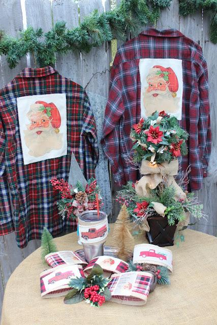 Vintage handmade Christmas gifts
