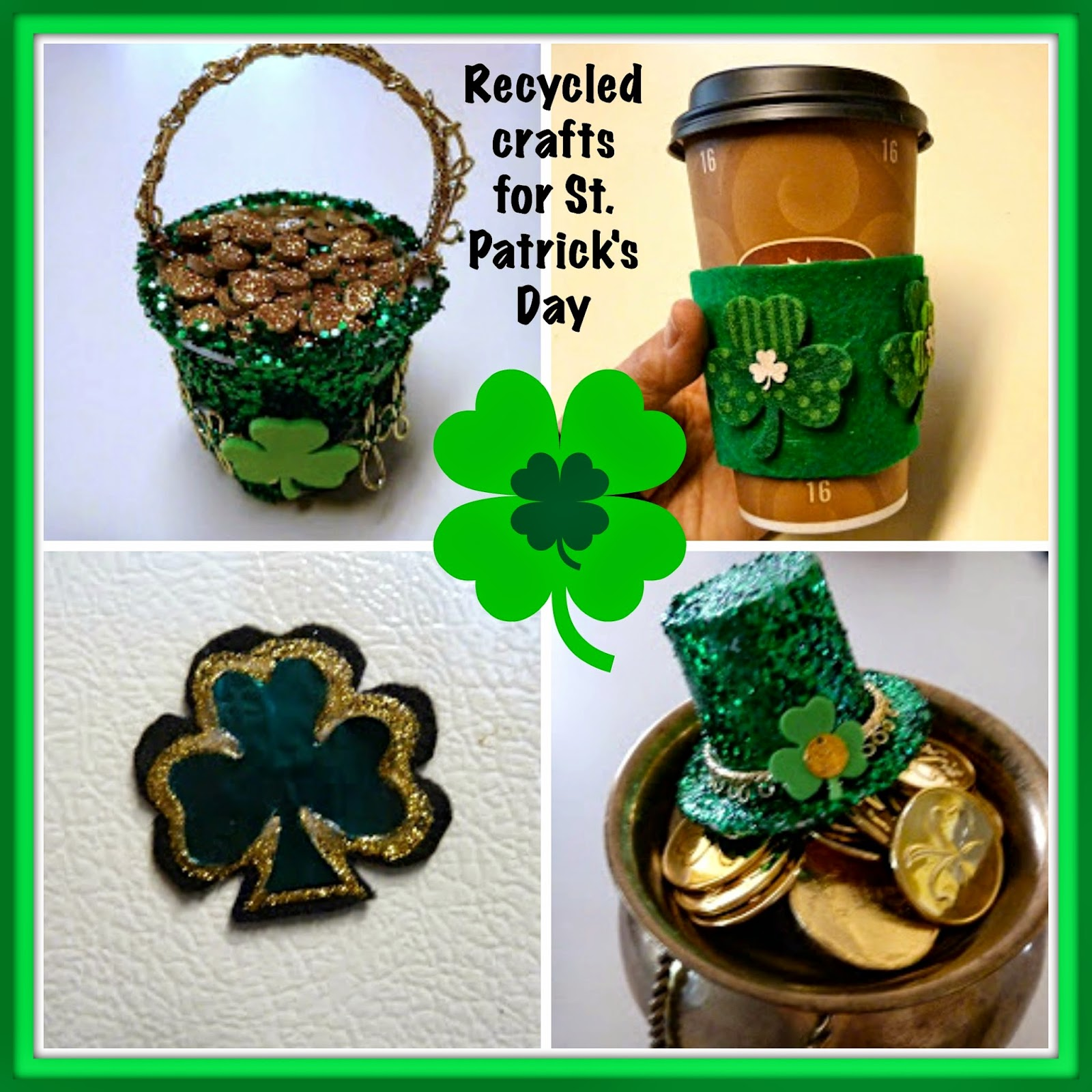 St. Patricks Day craft roundup