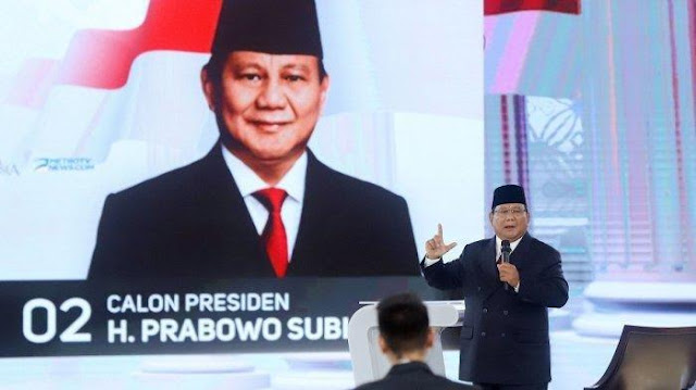 Ubah Nada Bicaranya, Prabowo Subianto: Kita Bangun Infrastruktur, Nanti Rakyat Kita Bagi Kartu-kartu
