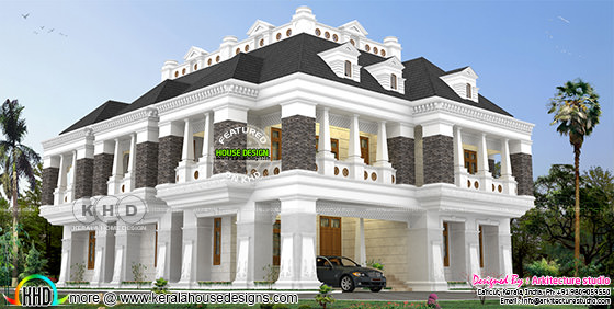 7 bedroom attached luxury colonial home
