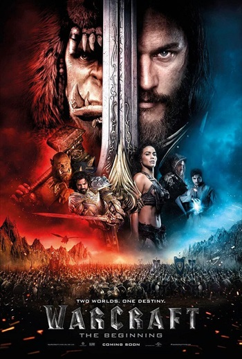 Warcraft 2016 English CAMRip 900MB