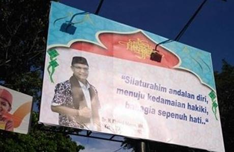 Baliho Sudah Terpasang di Beberapa Titik, Khairul Ikhwan Pastikan Maju Pada Pilkada Kota Padang