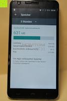 "Speicher 3 Stunden: HOMTOM HT30 3G Smartphone 5.5""Android 6.0 MT6580 Quad Core 1.3GHz Mobile Phone 1GB RAM 8GB ROM Smart Gestures Wake Gestures Dual SIM OTA GPS WIFI,Weiß"