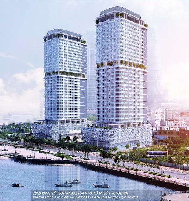 Phối cảnh dự án Risemount Apartment Đà Nẵng