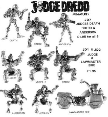 the leadpile: Judge Dredd RPG