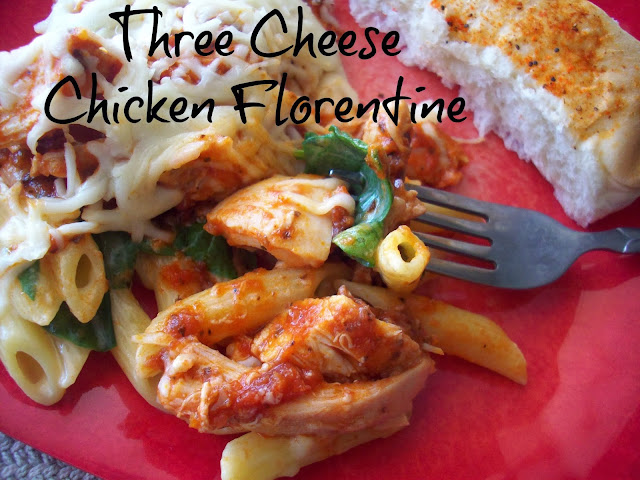 Three Cheese Chicken Florentine #KraftRecipeMakers #shop #cbias
