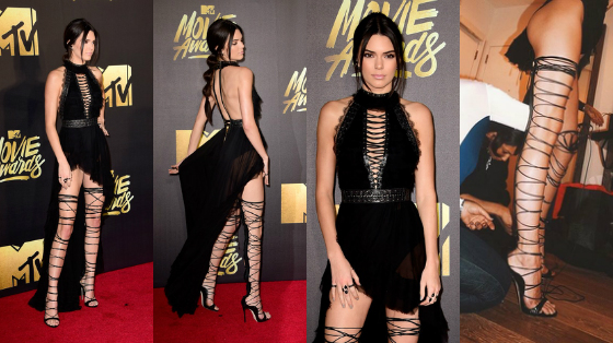 looks MTV Movie Awards 2016 kendall jenner