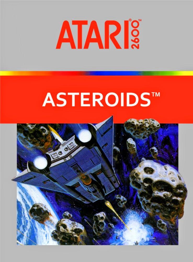Atari 2600 Vcs Mr Do Scans Dump Download: 1981: Asteroids For Atari 2600