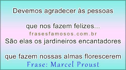 Frases Curtas de Marcel Proust