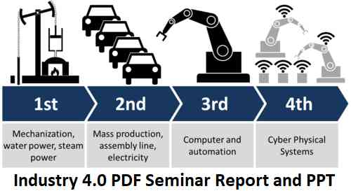 Seminar Report on Industry 4 0 | Download