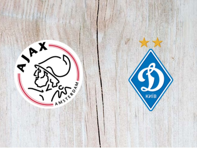 Ajax vs Dynamo Kyiv Full Match & Highlights - 22 August 2018