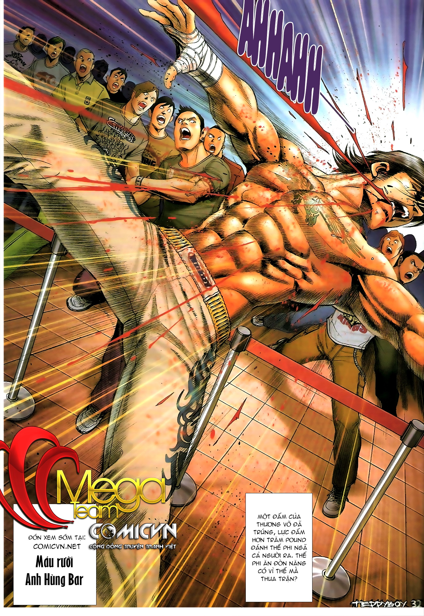 Người Trong Giang Hồ - Chapter 1307: Vinh Nhục Nhất Chiến 2 - Pic 29