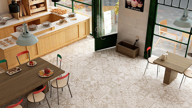 Tiles design images of Retroseries - Perfect integration into any contemporary environment