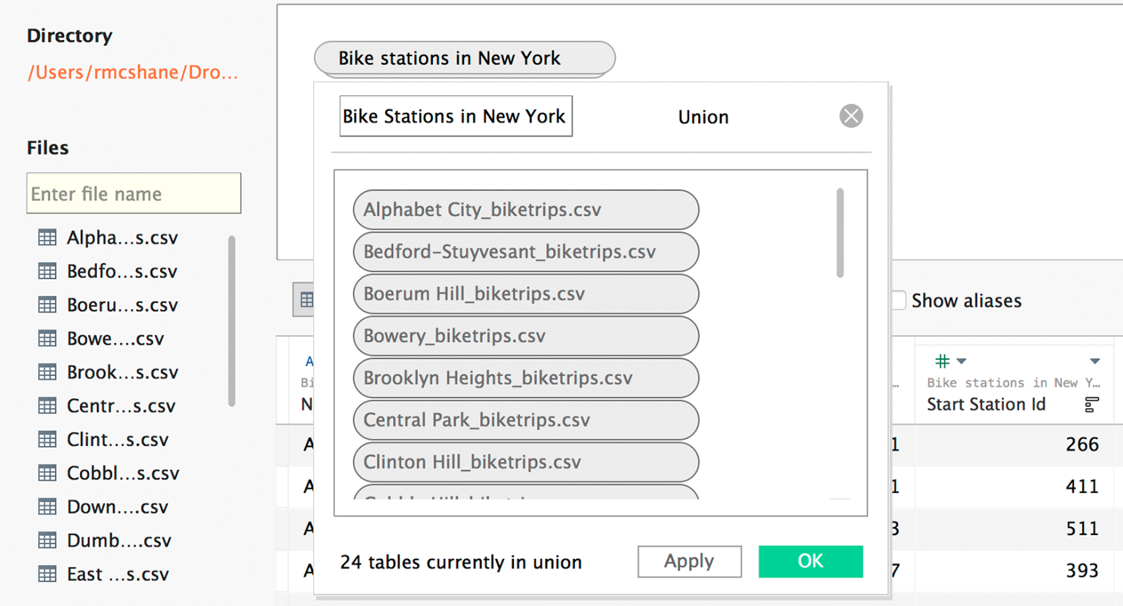 Tableau expert info tableau 93 new features i have city wise bike trips data in files each city data stored in single file but i want to analyze this data for all cities gamestrikefo Gallery
