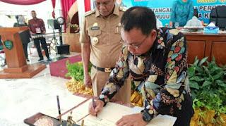 Walikota Binjai- Bupati Barru Tandatangani Kesepakatan