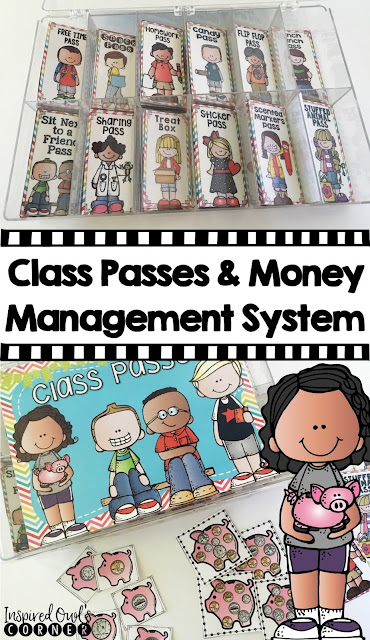 Classroom Management Using Class Passes and Money