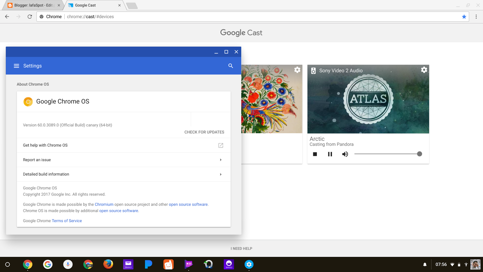 Chrome OS advanced commands, settings, expert features