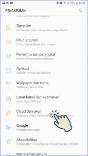 Cara Keluar akun Gmail di Android 2