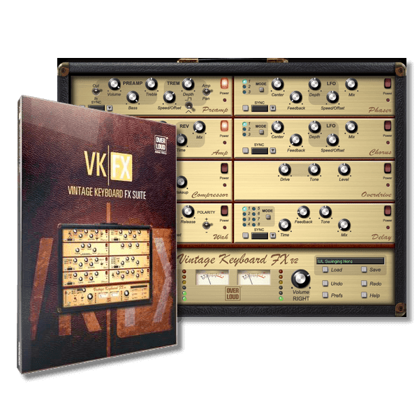 Overloud - Vintage Keyboard FX v2.2.17 Full version