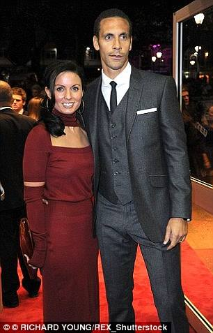 Rio Ferdinand with TOWIE's Kate Wright -lawsonjamesblog entertainment news