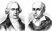 слева - Жозеф, справа - Этьен (гравюра XIX в).