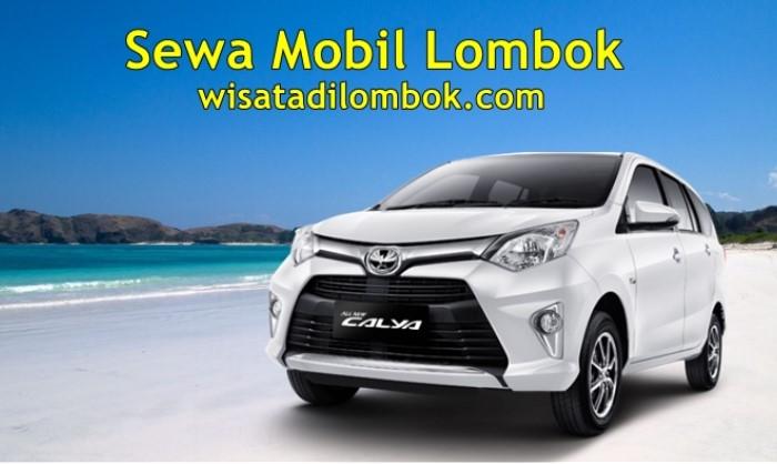 Harga Sewa Mobil Toyota Calya di Lombok