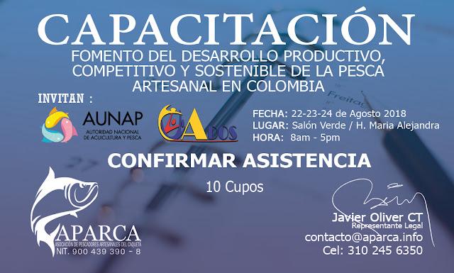 FOMENTO DEL DESARROLLO PRODUCTIVO, COMPETITIVO Y SOSTENIBLE DE LA PESCA ARTESANAL EN COLOMBIA