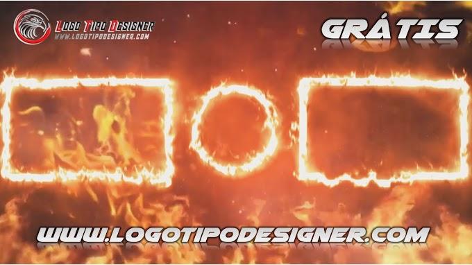 Tela final #FIRE (fogo) TEMPLANTE FINAL EDITAVEL Grátis para final de video Youtube
