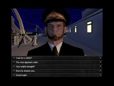 Pantallazo Videojuego Titanic Aventura fuera de tiempo